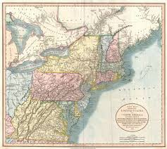 Map Of Maryland And Virginia by File 1821 Cary Map Of New England New York Pennsylvania And