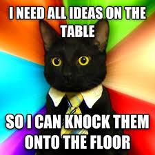 Meme Business Cat - business cat money power treats by tom fonder