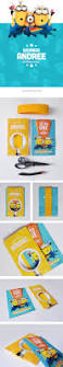 despicable me minion birthday invite on behance