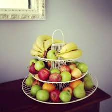 fruit basket stand tier fruit bowl 3 tier fruit basket stand from farmhouse design
