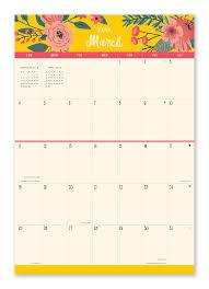 Secret Garden Wall by Secret Garden Do It All Wall Calendar 2018 Plan It Calendars