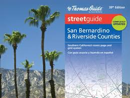 Riverside Zip Code Map by Thomas Guide San Bernardino U0026 Riverside Counties Street Guide
