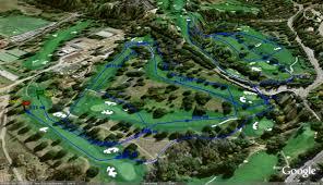 Mount Sac Map California High Cross Country Courses