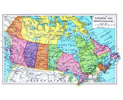 Newfoundland Map Maps Of Canada Detailed Map Of Canada In English Tourist Map