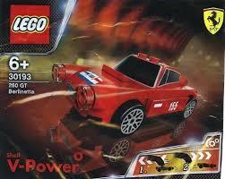 ferrari lego amazon com lego ferrari shell promo 30193 ferrari 250 gt