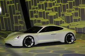 electric porsche mission e porsche confirms mission e electric car headed to production