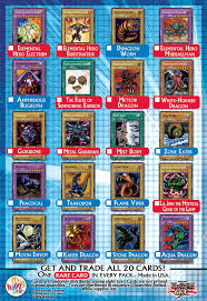mcdonald u0027s promotional cards 2 yu gi oh fandom powered by wikia