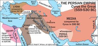 Persia Map The Medo Persian Empire Appendix 2 Of Daniel Faithful