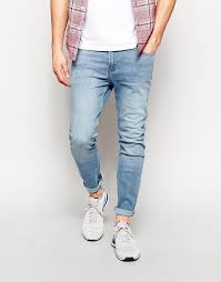 mens light blue jeans skinny hoxton denim skinny jeans in light blue wash where to buy how to