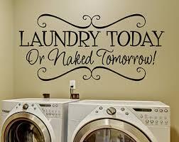 Decorating Wall Ideas For Bedroom Laundry Room Decor Etsy