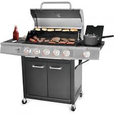 backyard grill 5 burner gas grill stainless steel shoptv