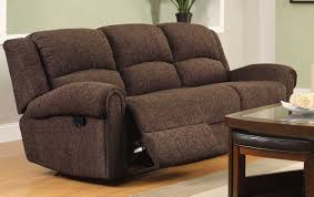 homelegance esther double reclining sofa dark brown chenille