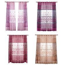 online get cheap windows curtains bedroom flowers aliexpress com
