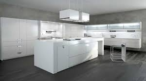 cuisine blanc laqu plan travail bois cuisine blanche laquée galerie et chambre enfant cuisine blanc