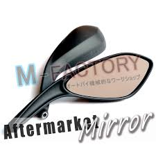 black aftermarket side mirrors ducati monster 696 796 795 08 09 10