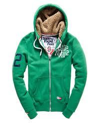 superdry washbasket shirt shop superdry mens trackster winter zip