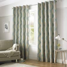 Green And Beige Curtains Wilde Lined Eyelet Curtains Duck Egg Gold Beige