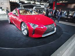 lexus lc 500 news and the lexus lc 500 coupe debuts in new york