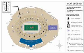 Gillette Stadium Floor Plan by 2017 Reference Guide To Gator Football U2022 Tv U2022 College Sports Media