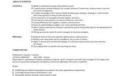 Logistics Responsibilities Resume Sample Logistics Resume Sample Resume For Global Operations