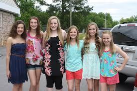 the williamson family 6th grade dance
