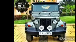 mahindra thar crde 4x4 ac modified spartan hardtops by westcoast offroad customs youtube