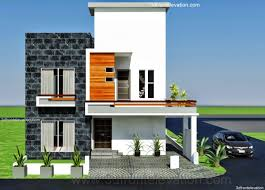 Home Front View Design Pictures In Pakistan 10 Marla Modern Architecture House Plan Corner Plot Design In