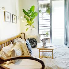 Bedroom Side View by Home Tour Small Apartment Big On Style