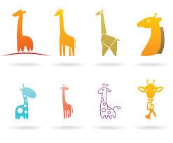 giraffes logos vector art u0026 graphics freevector com