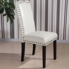 Leather Parson Dining Chairs Parsons Leather Dining Chairs Foter