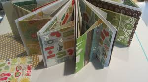 scrapbook albums envelope scrapbooking ideas mini album craft tutorial