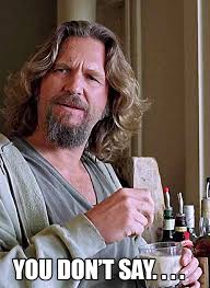The Dude Meme - ot day of the dude mgoblog