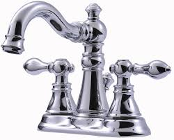 ultra faucets victorian series centerset bathroom faucet with