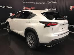 lexus pre owned toronto pre owned 2017 lexus nx 200t demo unit standard package 4 door