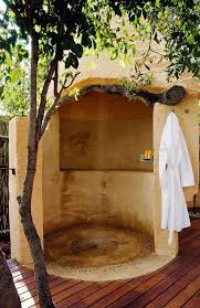 Backyard Shower Ideas Outdoor Shower Ideas With Wooden Flooring And Trees And Unique