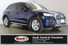 audi suv houston audi central houston vehicles for sale in houston tx 77098