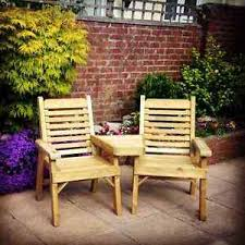 wooden garden furniture love seats jack and jill seats companion