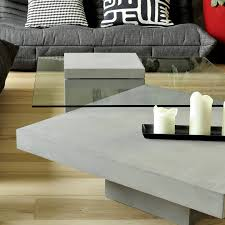 Minimalist Coffee Table by Concrete And Glass Coffee Table Minimalist Design Modern Lyon