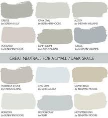 neutral paint color for small spaces gray owl benjamin moore