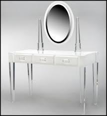 Clear Vanity Table Acrylic Vanity Table Cresif