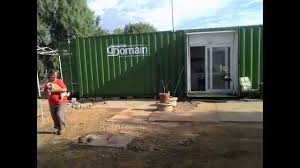my 40 foot container home www containerhomes net au youtube
