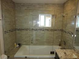home design sliding glass shower doors over tub window