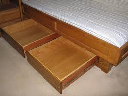 Diy Platform Bed Frame Plans by The 25 Best Bed Frame Plans Ideas On Pinterest Platform Bed