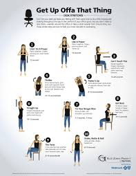 desk stretches from healthways blue zones project
