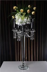 table centerpiece rentals glass candelabra table centerpiece and wedding centerpiece rentals