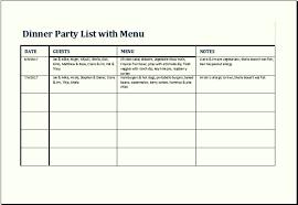 menu list sample tutornow info