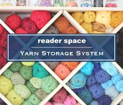 Yarn Storage Cabinets 19 Reader Space Yarn Storage System Yarn Storage Yarns And Storage