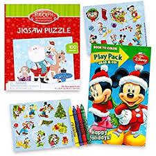 amazon disney mickey mouse christmas coloring book 2