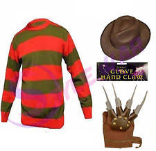 Ms Krueger Halloween Costume Freddy Krueger Costume Ebay
