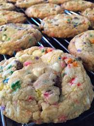 what u0027s cooking u2014 cake batter chocolate chip cookies 501 hats
